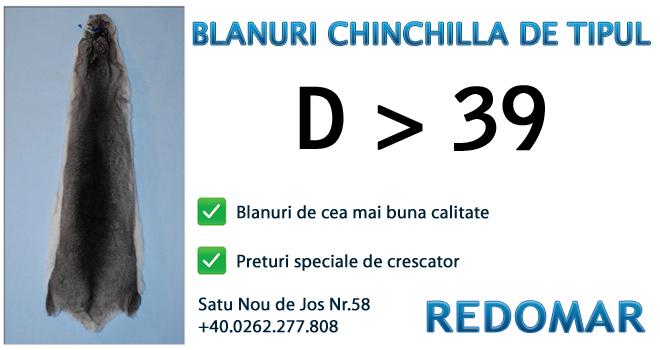 Blanurile de chinchilla de tipul d 39 - Redomar SRL